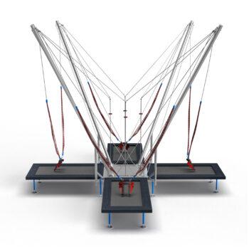 4in1 Eurojumper mobile bungee  trampoline