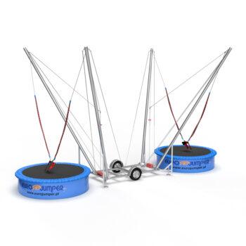2in1 Eurojumper bungee trampoline mobile