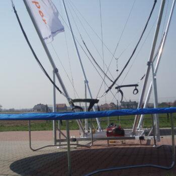 2in1 Eurojumper bungee trampoline 2 person